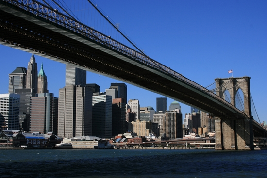 The World's Most Romantic Travel Destinations-2 - Brooklyn Bridge NY
